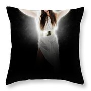 Greek Goddess  Throw Pillow