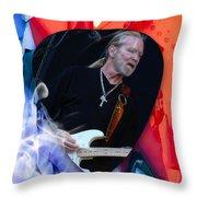 Gregg Allman Art Throw Pillow
