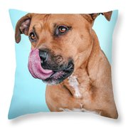 Gripper Throw Pillow