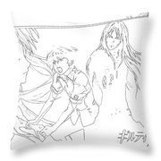 Guilty Crown Throw Pillow