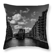 Hamburg  Throw Pillow