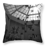 Hanging Butterflies Throw Pillow