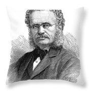 Henry Walter Bates Throw Pillow