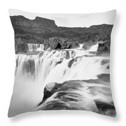 Idaho: Shoshone Falls Throw Pillow