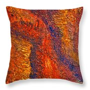 Intuitive Painting Throw Pillow