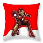 Iron Man Collection Throw Pillow