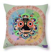 Jagannath Throw Pillow