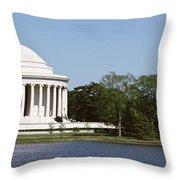 Jefferson Memorial, Washington Dc Throw Pillow