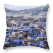 Jodhpur - India Throw Pillow
