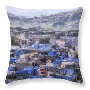 Jodhpur - India Throw Pillow