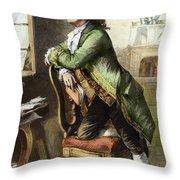 Johann Goethe, 1749-1832 Throw Pillow