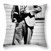 John Dillinger 1903-1934 Throw Pillow by Granger