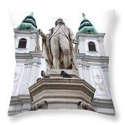Josef Haydn Throw Pillow