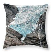 Jostedalsbreen National Park Throw Pillow