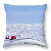 Kangerlussuaq - Greenland Throw Pillow