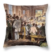 Kansas-nebraska Act, 1855 Throw Pillow