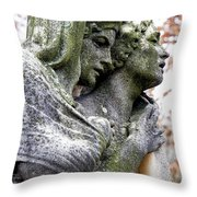 Kerepesi Cemetery, Budapest Throw Pillow