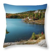 Killarney Provincial Park In Fall Throw Pillow