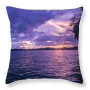 Krabi Sunset Throw Pillow