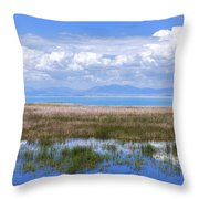 Lake Beysehir - Turkey Throw Pillow