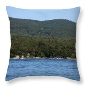 Lake George New York Throw Pillow