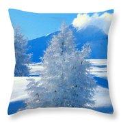 Landscape Light Throw Pillow