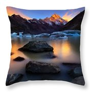Landscape Painting Throw Pillow