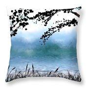#4 Landscape Throw Pillow