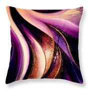 Light Dance Throw Pillow