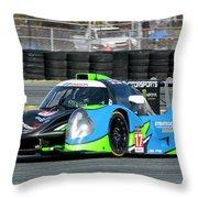 Ligier Js P3 Le Mans Prototype 3 Lmp3 Throw Pillow