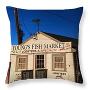 Lobster Shack Throw Pillow