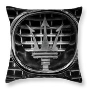Maserati Throw Pillow