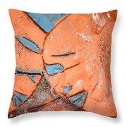 Mask - Tile Throw Pillow