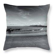 4 Mile Beach Port Douglas Throw Pillow
