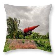 Military Weapons, Ballistic, Anti-aircraft, Medium-range Missile 5 Throw Pillow