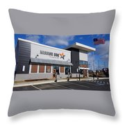 Mission Bbq Throw Pillow