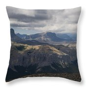 Mount Black Rock Throw Pillow