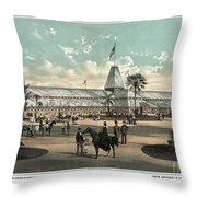 New Orleans, Fair, 1884.  Throw Pillow