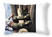 Rover In Dusk Throw Pillow