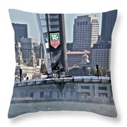 Great Day Throw Pillow