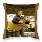 Nick Cox Of 7th Heaven Throw Pillow