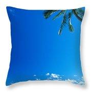 Oahu, Lanikai Beach Throw Pillow
