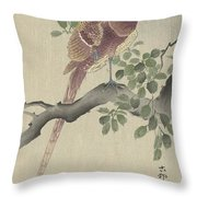 Ohara Koson Throw Pillow