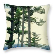 Old Settlers Throw Pillow