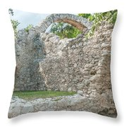 Oxtankah Throw Pillow
