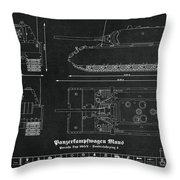 Panzerkampfwagen Maus Throw Pillow