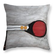 4 Perplex 3 Throw Pillow