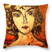 Portrait Throw Pillow