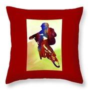 Racer Throw Pillow
