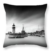 Ramsgate Lighthouse Throw Pillow